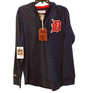 MITCHELL & NESS Detroit Tigers Shirt Hoodie